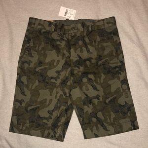 NEW Crewcuts (J.Crew) Boys Size 10 Camo shorts